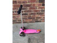 Mini Micro Scooter, Bright Pink