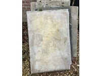 16 paving slabs (council type) 900mm x 600mm x 50mm