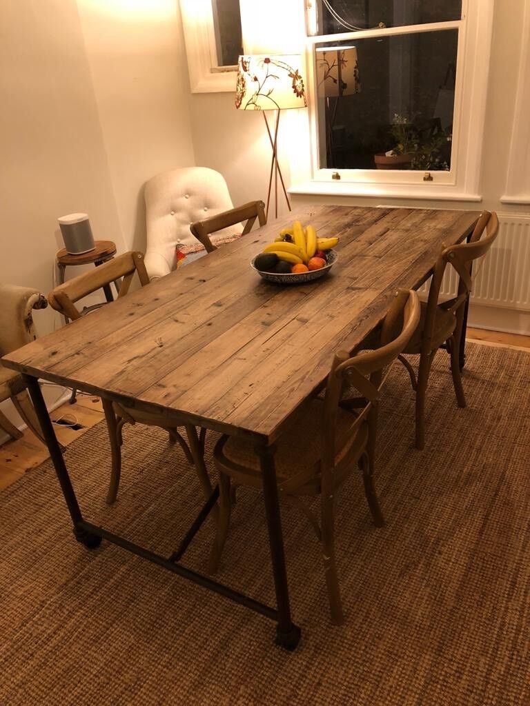 Vintage antique wooden dining room table £300 ono