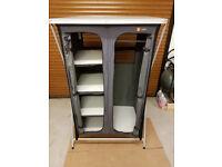 Hi Gear 4 shelf folding wardrobe for camping, caravan or awning
