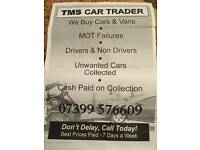 tms car traders cars vans and 4x4 cash paid today