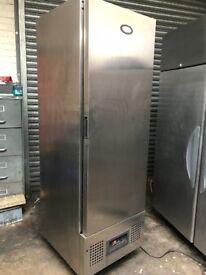 Foster commercial single door upright freezer, slim style freezer