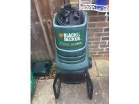 Black & Decker Garden Shredder.