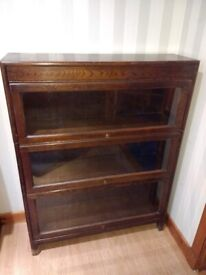 Antique Angus Gunn Barristers Bookcase / Sectional / Stacking Vintage Art Deco