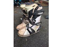 Kids Thor quadrant mx boots