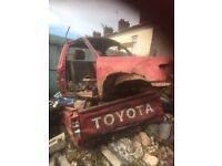 Toyota hilux pickup 4x4 and 4x2