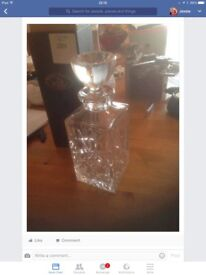 Crystal decanter BRAND NEW