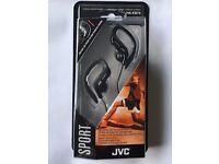 Brand new JVC Sport Stereo Earphones HA-EB75