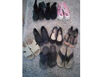 Selection of shoes/sandals