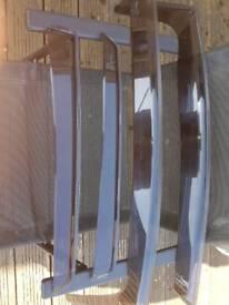 Wind deflectors.