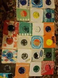 Single records vinyls