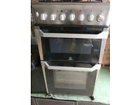 NARROW COOKER Indesit IT50D 1 XXS 50cm twin Cavity Dual cooker