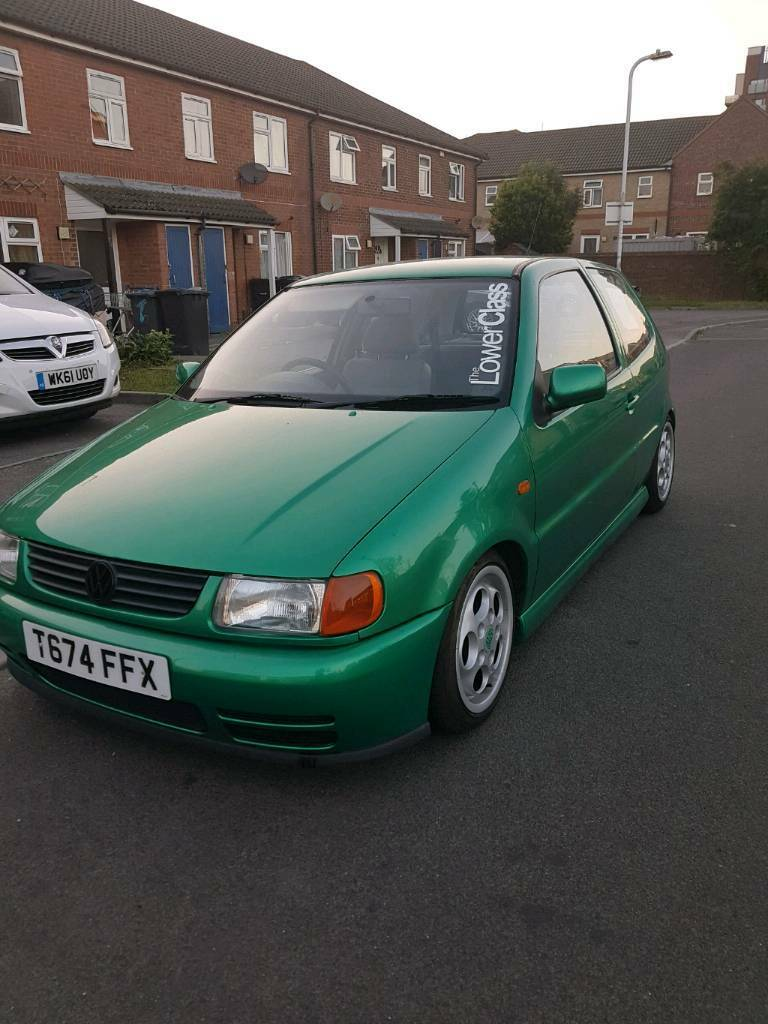 vw polo 6n 999cc modified good running car in hampshire gumtree. Black Bedroom Furniture Sets. Home Design Ideas