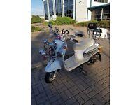 50cc scooter retro old school look