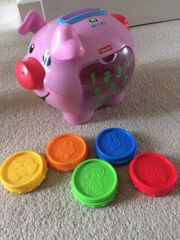 Kids toys: Seahorse, Piggy Bank, Blocks, Camera and etc