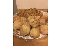 Homemade cookies and pastry