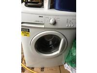Zanussi Flexi dose 7kg 1400 spin washing machine - 6 months use only