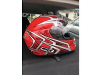 motor helmets different sizes and colors