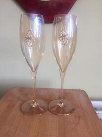 Franco champagne glasses