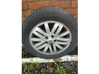 "Renault 17""Alloys wheels with tyres"