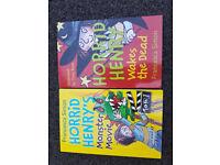 Horrid Henry's Monster Movie & Horrid Henry Wakes the Dead – Children Kid's Books