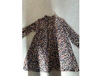 Girls Next Leopard Print Dress