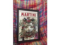 Vintage small martini picture mirror