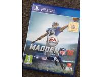Madden 16 for the PlayStation 4