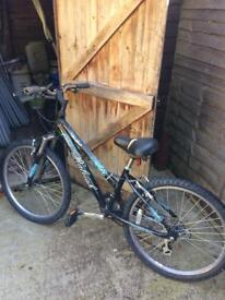 Mountain bike with gears