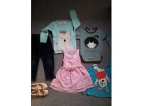 bundle of clothes for girl 4-5 Y and 5-5Years