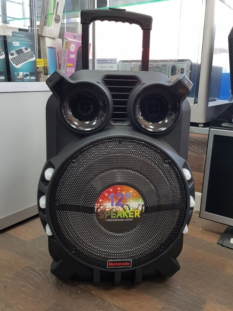 MEIRENDE 12 INCH SPEAKER WITH ACCESSORIES BRAND NEW WITH RECEIPT | in  Coventry, West Midlands | Gumtree