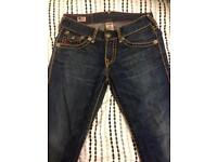 True religion jeans (not stone island or Armani)