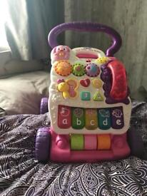 Vtech first steps baby walker (with phone)
