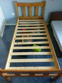 O'Baby Cot + Solid Pine Single Bed