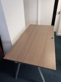 IKEA desk 160 x 80cm with adjustable legs