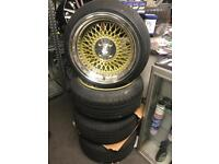 "16"" Klutch alloy wheels alloys rims tyre tyres 4x100 vauxhall Vw Volkswagen Nissan Mazda mini"