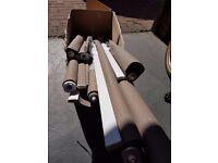 Bradrail Roller blinds - Mocha colour - Various sizes