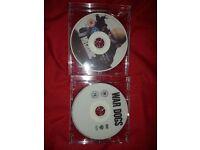Mechanic Resurrection & War Dogs dvd (Disc Only )