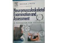 Neuromusculoskeletal Examination and Assessment. Third edition- Nicola J Petty