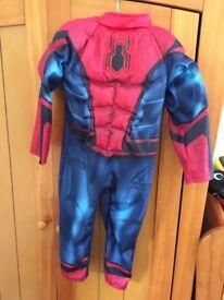 Spider-Man costume age 3 yrs
