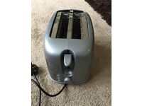 Silver toaster, good condition