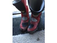 Oxtar bike boots
