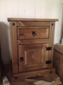 Pine bedside table sale