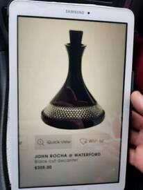 John Rocha black cut decanter
