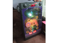 Techball radio controlled pinball machine,great sound effects and visual images