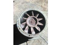 Nuaire circular bifurcated axial fan