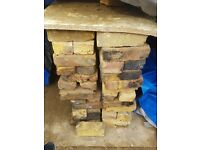 *********Reclaimed Original Yellow/Red Stock Bricks (over 100 bricks)**********