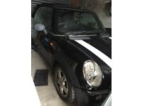 Mini one converible black 1.6 alloy wheels new MOT