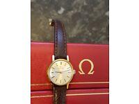 Omega watch vintage ladies