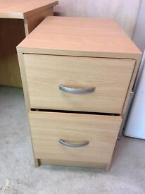 2 drawer pedestal for office